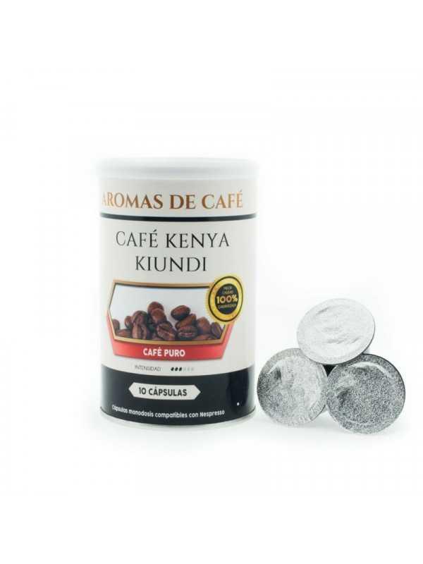 Capsulas de Cafe Kenia Kiundi compatible con Nespresso