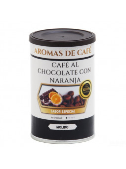 Cafe con Chocolate y Naranja