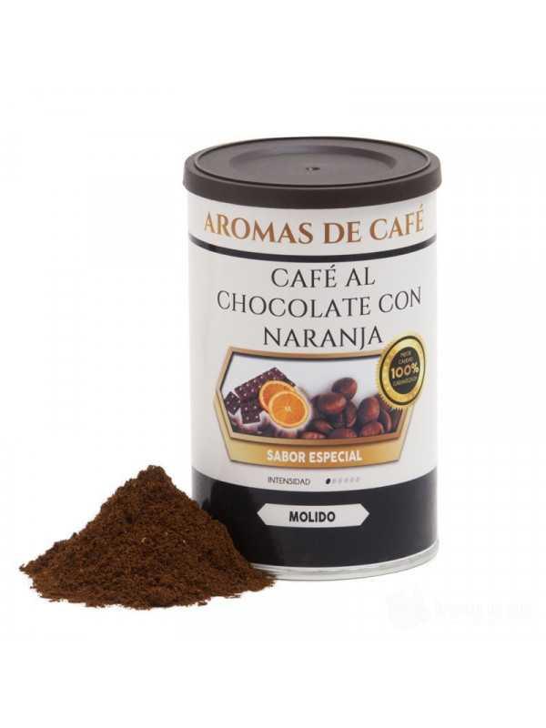 Cafe con Chocolate y Naranja